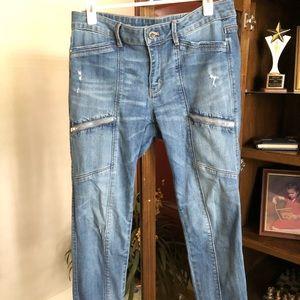 WHBM skimmer Jeans sz 10